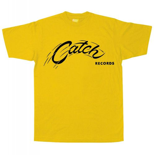 Catch Records T Shirt  Daisy Yellow [98]
