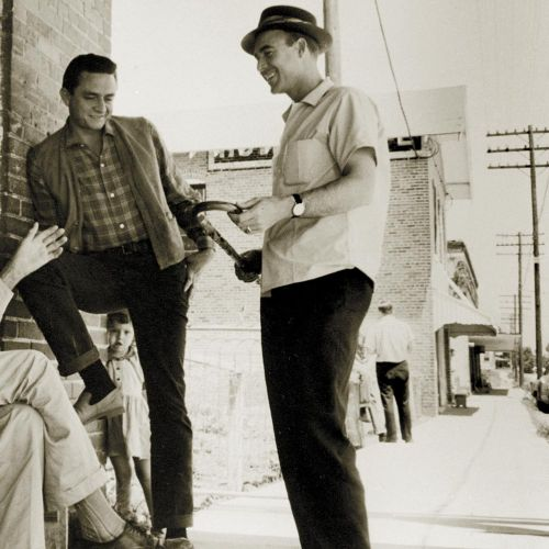 Johnny Horton and Johnny Cash