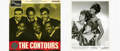 The Contours 45 and Martha Reeves and the Vandellas Press Photo