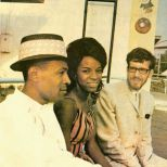Dave Godin with Martha Reeves and Marvin Gaye