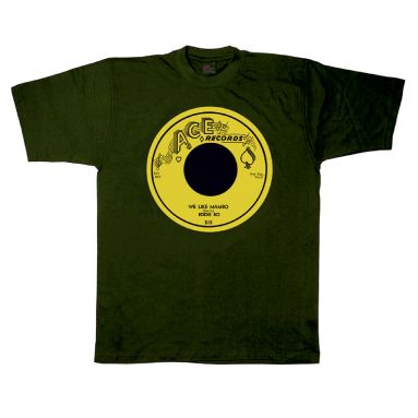 We Like Mambo T Shirt Forest Green [33]
