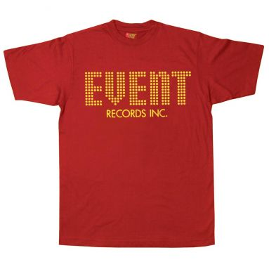 Event Records T Shirt Cardinal Red [11]