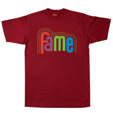 FAME Logo T Shirt Cardinal Red [11]