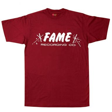 FAME Recording Co T Shirt Cardinal Red [11]