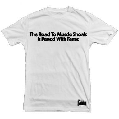 The Road to Muscle Shoals T Shirt White [30]