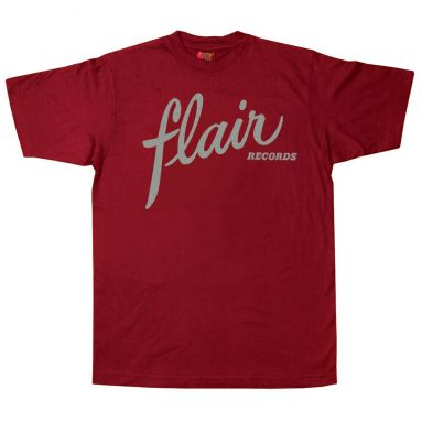 Flair Records T Shirt Cardinal Red [11]