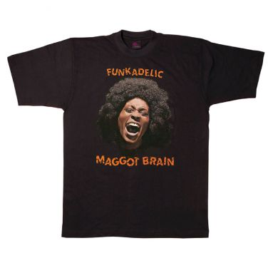 Maggot Brain LP T Shirt front Black [36]
