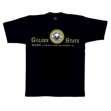 Golden State Records T Shirt Black [36]