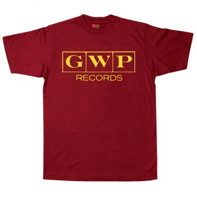 GWP Records T Shirt Cardinal Red [11]
