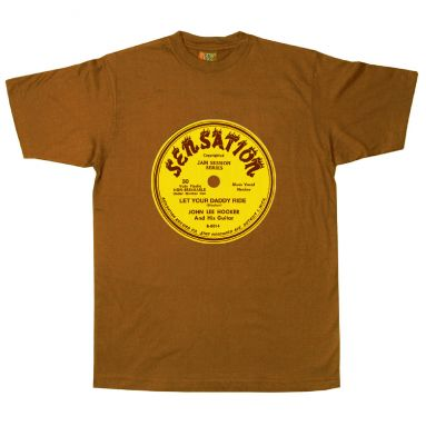 Let Your Daddy Ride Sensation Label T Shirt Chestnut Brown [84]