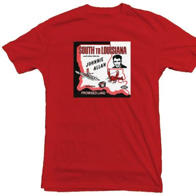 Johnnie Allan 'Promised Land' T Shirt (Red)