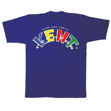 Kent Records 'Ultra High Fidelity' T Shirt Metro Blue [78]