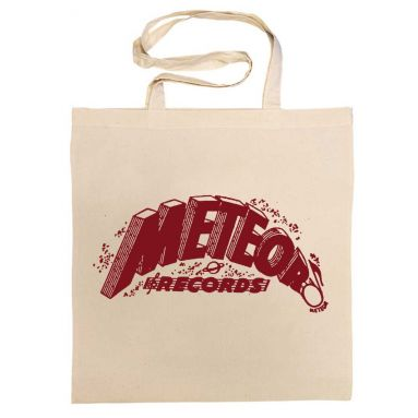 Meteor Records Cotton Bag Cardinal Red [11]