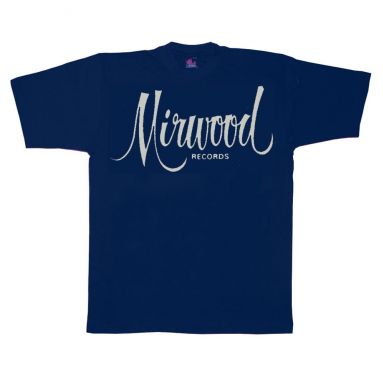 Mirwood Logo T Shirt Navy Blue [32]