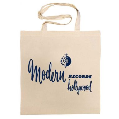 Modern Records Hollywood Cotton Bag Navy Blue [32]
