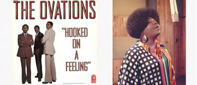 Ovations LP Cover & Barbara Brown Image.