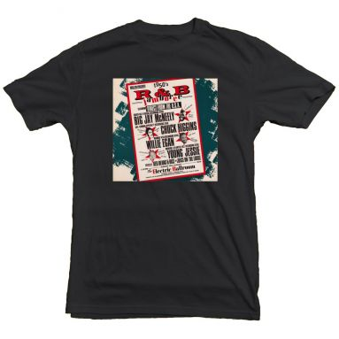 1950's R&B Jamboree T Shirt Black [36]