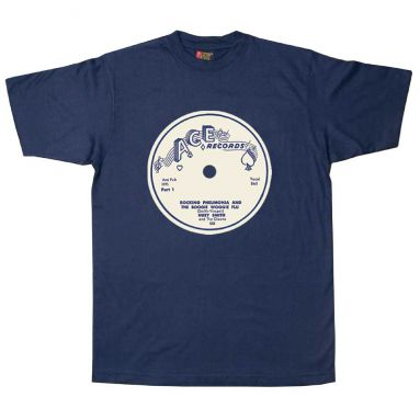 Rocking Pneumonia and the Boogie Woogie Flu T Shirt Navy Blue [32]
