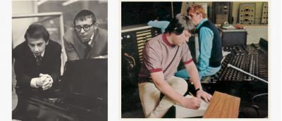 Phil Spector, Jack Nitzsche and Brian Wilson