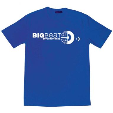 Big Beat International T Shirt Royal Blue [51]