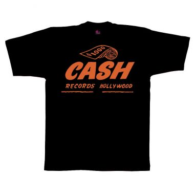 Cash Records T Shirt Black [36]