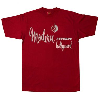 Modern Records Hollywood T Shirt Cardinal Red [11]