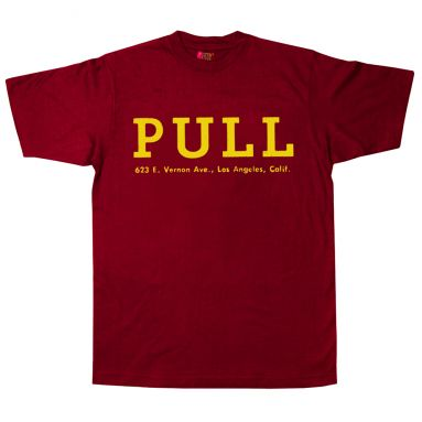 Pull Records T-Shirt Cardinal Red [11]