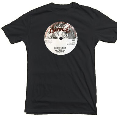 Brand New Cadillac Chiswick Records T Shirt Black [36]