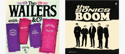 The Wailers & Co and The Sonics Boom LP Images