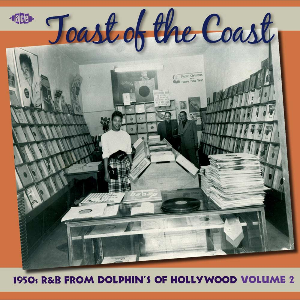 Various Artists Dolphin Toast Of The Coast 1950s R Amp B
