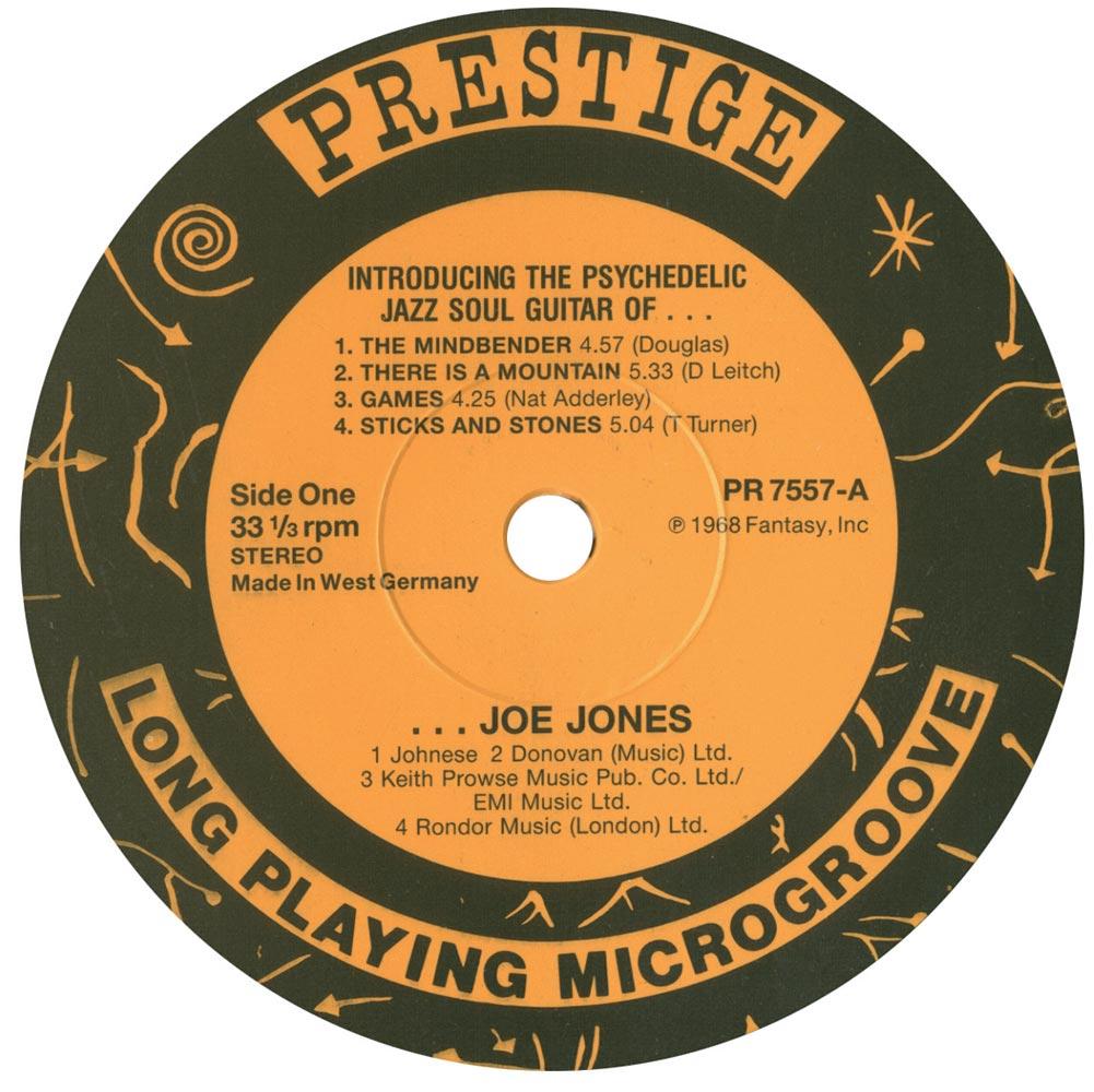 Ivan Boogaloo Joe Jones Black Whip