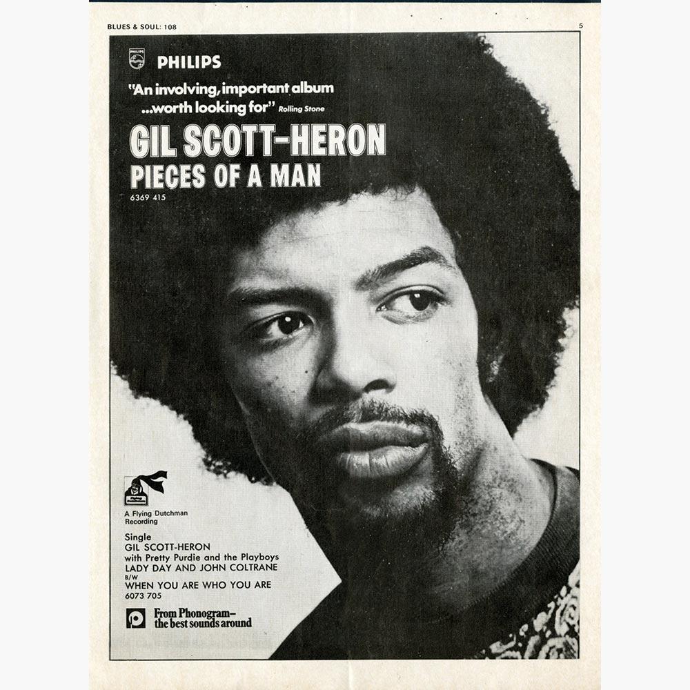 Gil Scott Heron genre