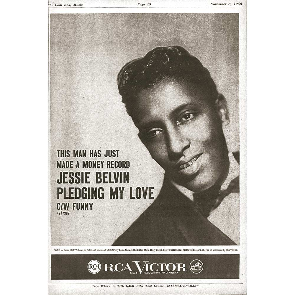 Jesse Belvin Guess Who The Rca Victor Recordings Ace