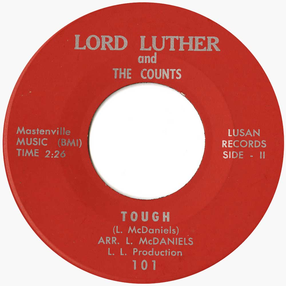 Lord Luther I Am The Lord Ace Records