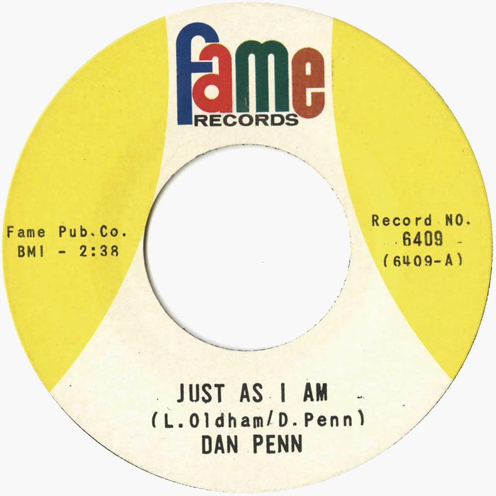 Dan Penn The Fame Recordings Ace Records