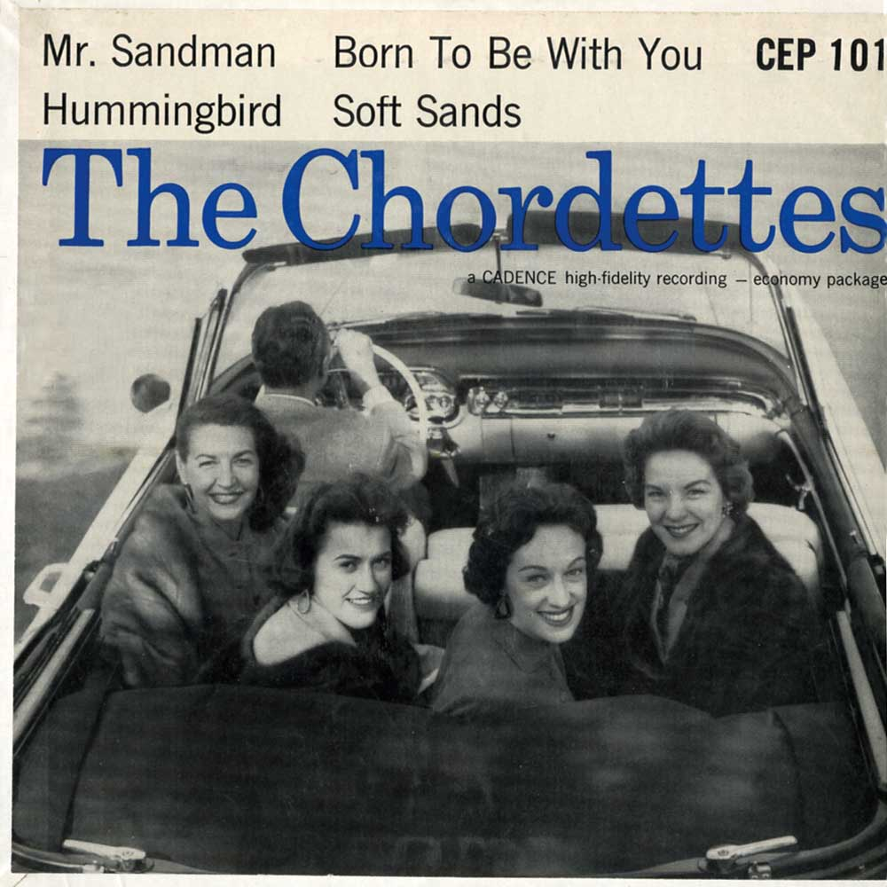 The chordettes born to be with you ace records