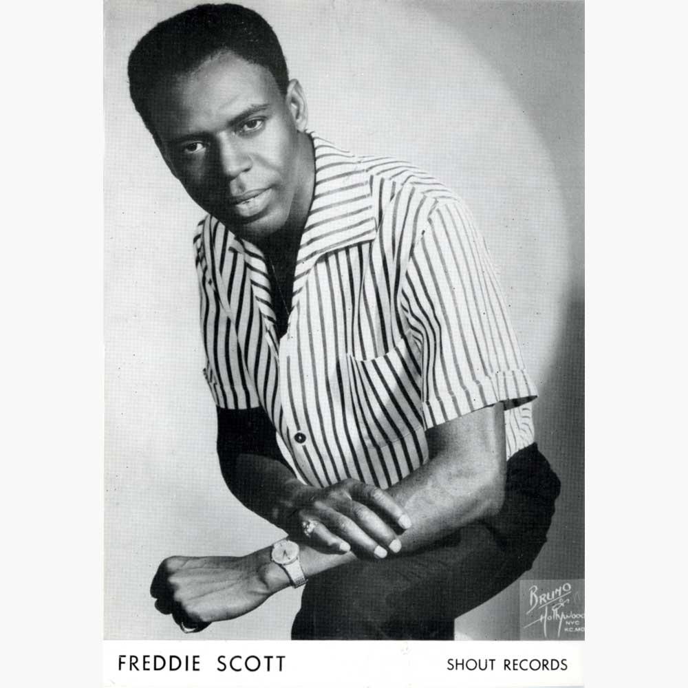 Freddie Scott Hey Girl