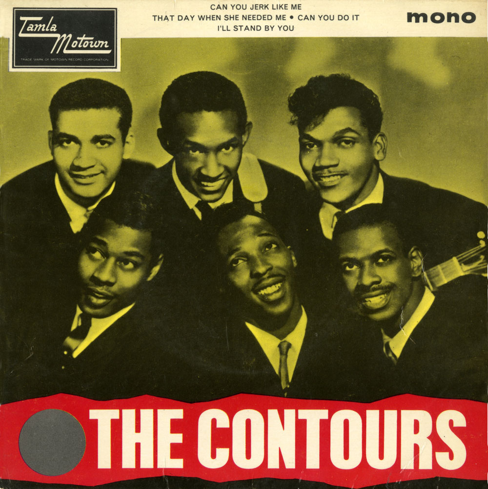 The Contours Dance With The Contours Ace Records