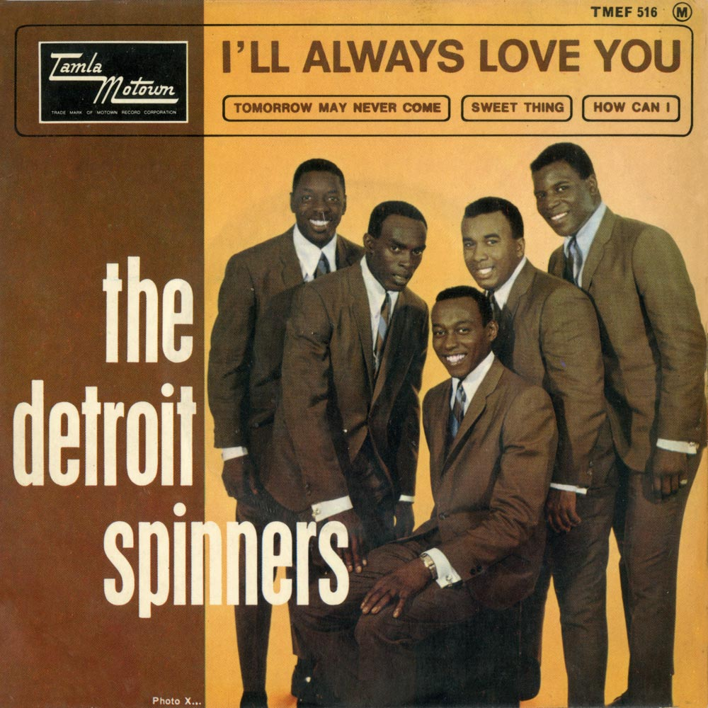 The Spinners Truly Yours Their First Motown Album With