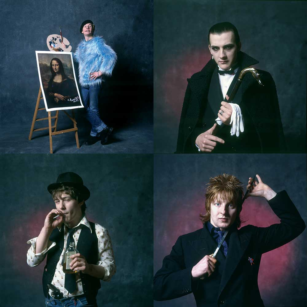 The Damned Stiff Singles Four Pack