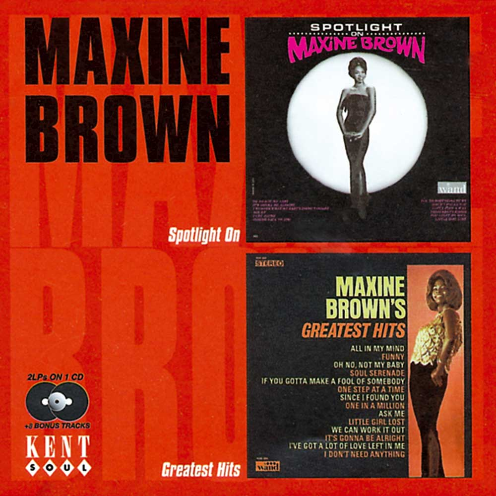 Chuck Jackson Maxine Brown Hold On Im Coming Never Had It So Good
