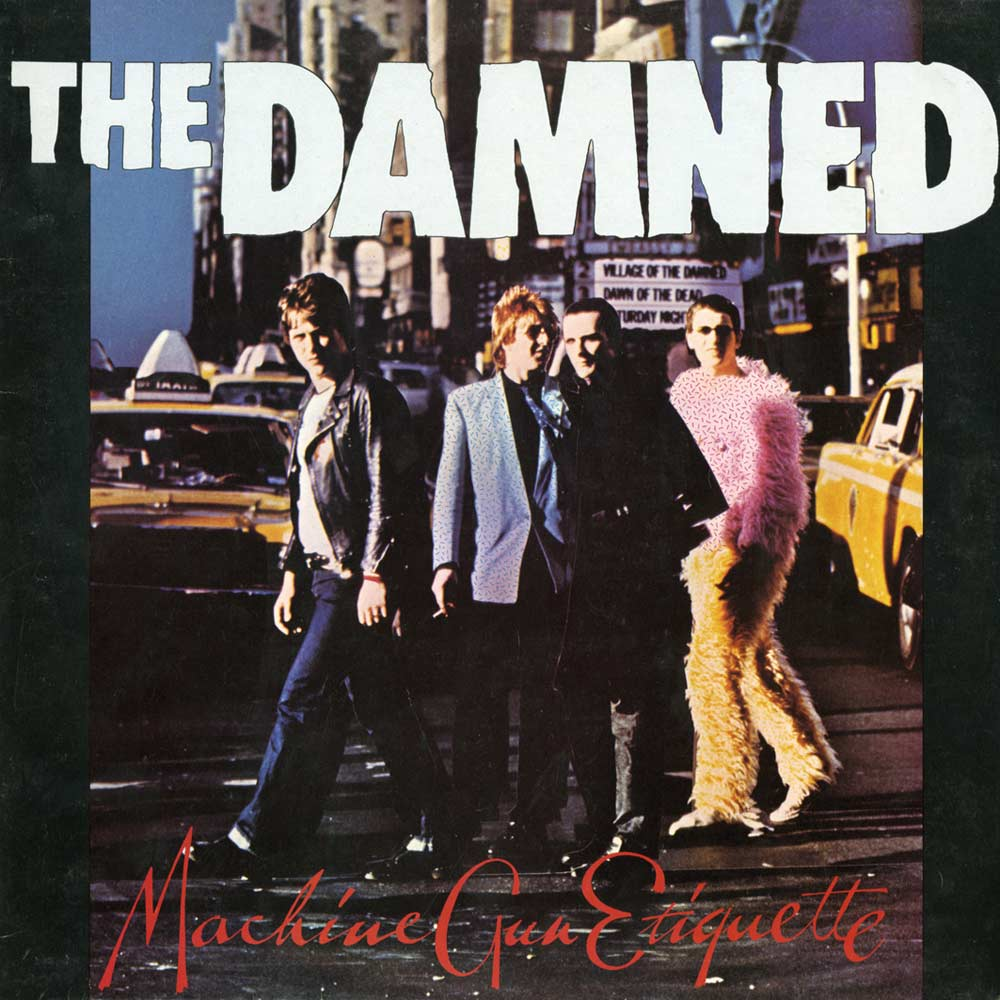The Damned Machine Gun Etiquette Mp3 Ace Records